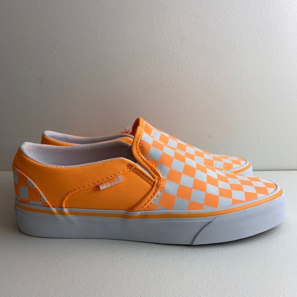 Vans Sk8 Off the Wall Slip On Checkered Womens 7.5
